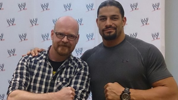 Cav with Roman Reigns