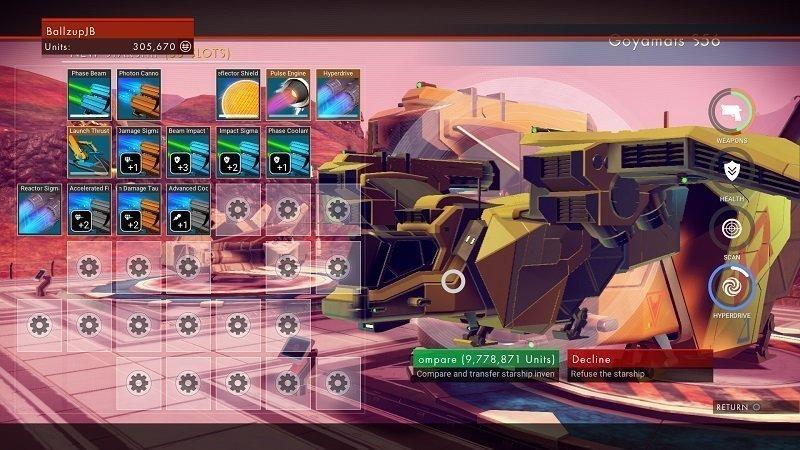 No Mans Sky Ship trade