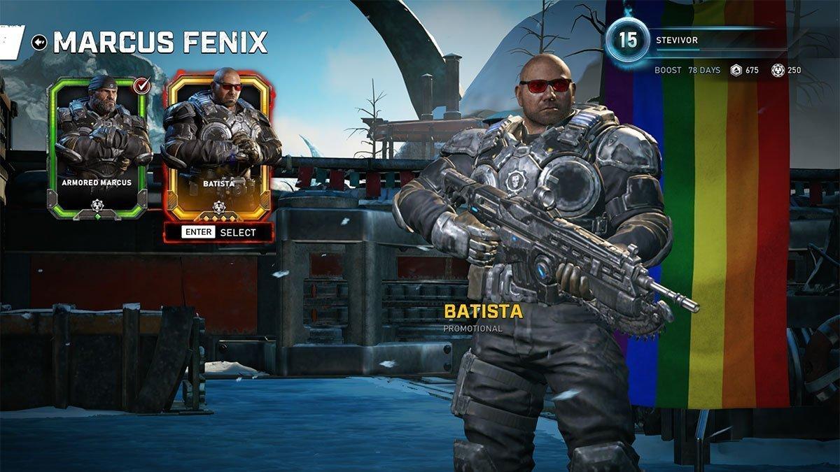 How To Play As Batista In Gears 5 Stevivor