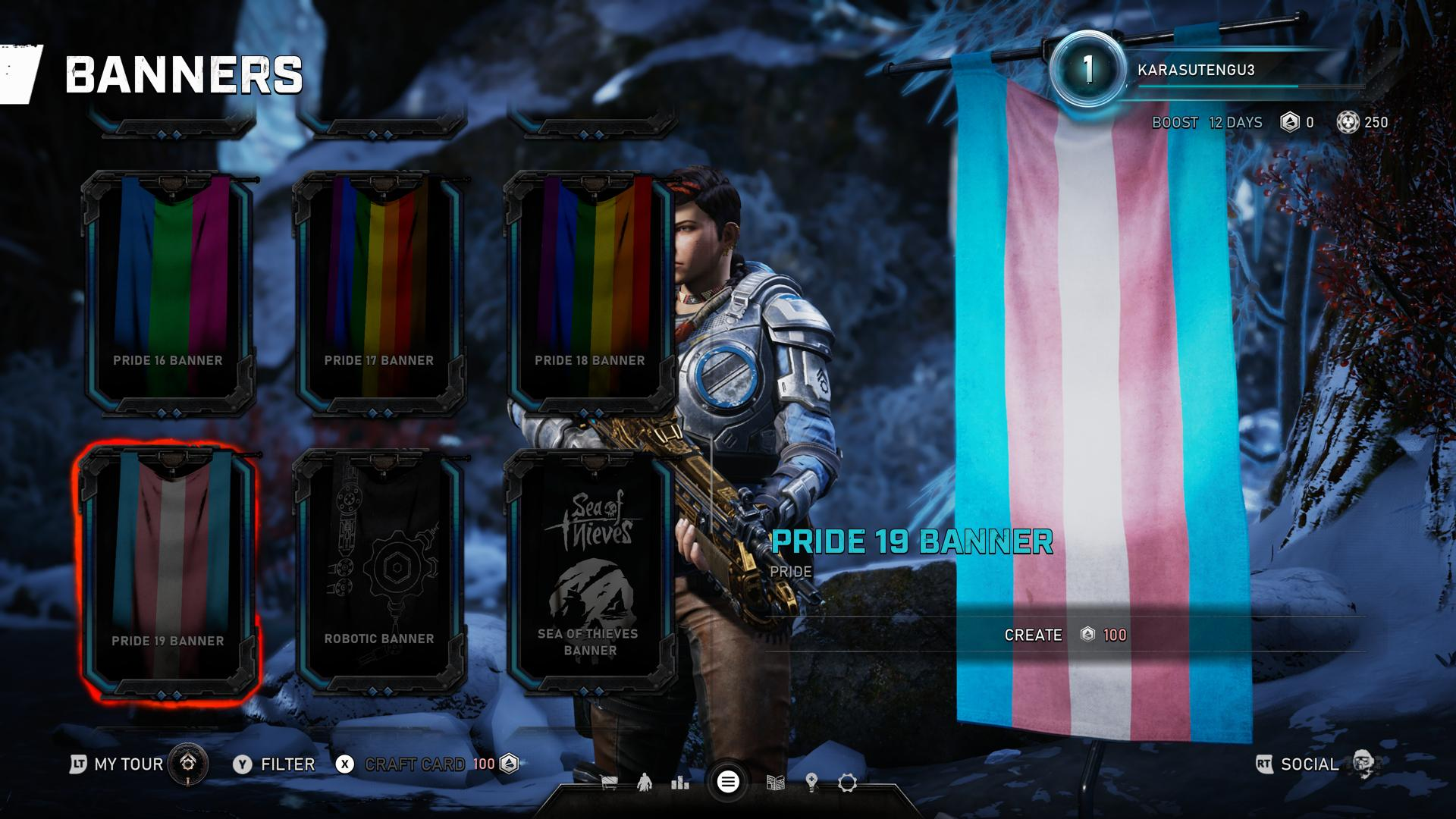 Gears 5 Has 19 Different Pride Flag Banners And We Live For Them